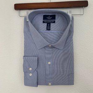 Buttoned Down Long Sleeve Dress Shirt Size 20 36